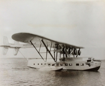 1931. AA. Pan American Sikorsky S-40 Amphibious Sesquiplane Flying Boat Aircraft (Front)